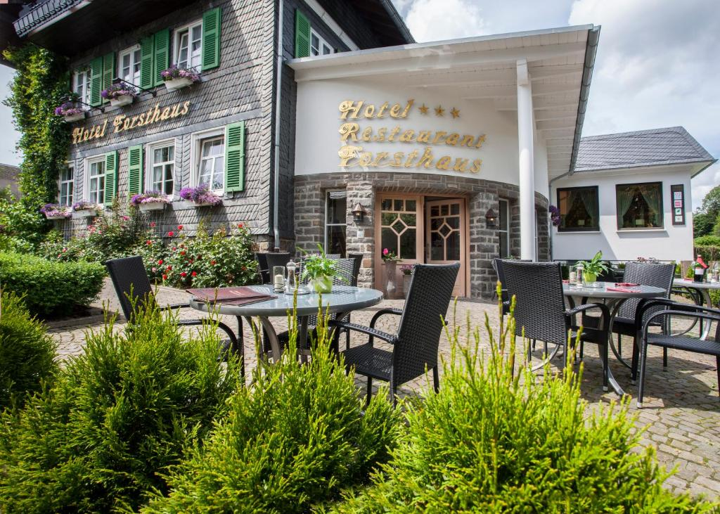 A restaurant or other place to eat at Hotel Forsthaus