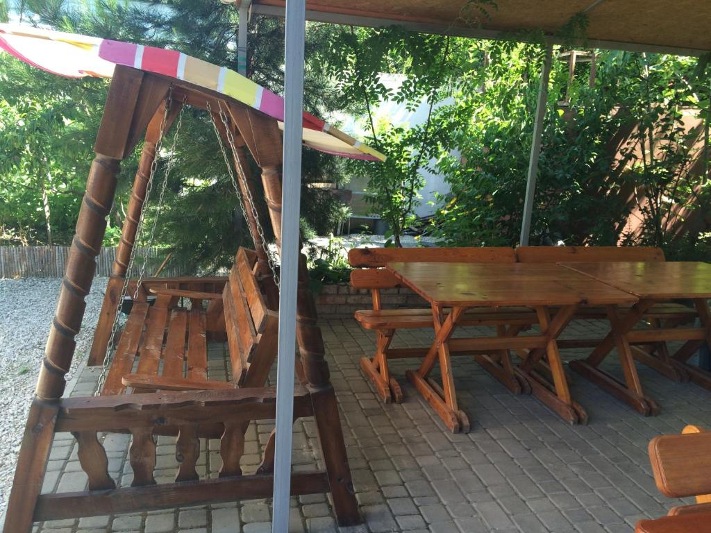 Патио или другая зона на открытом воздухе в Voyazh