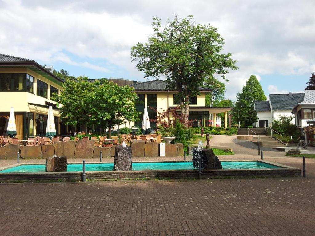 Ein Garten an der Unterkunft Ferienwohnung Hack