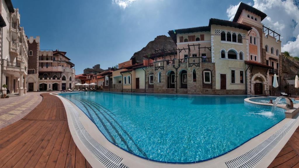 Soldaya Grand Hotel And Resort Sudak Aktualisierte Preise Fur 2021