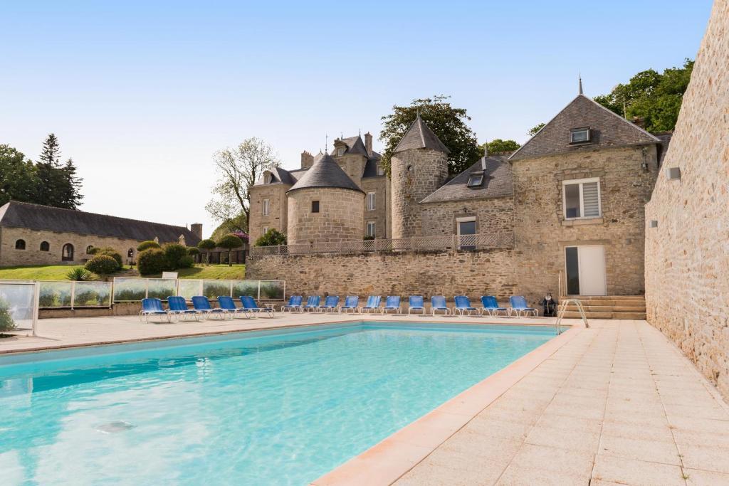 Manoir de Kerhuel de Quimper Ploneour-Lanvern, France