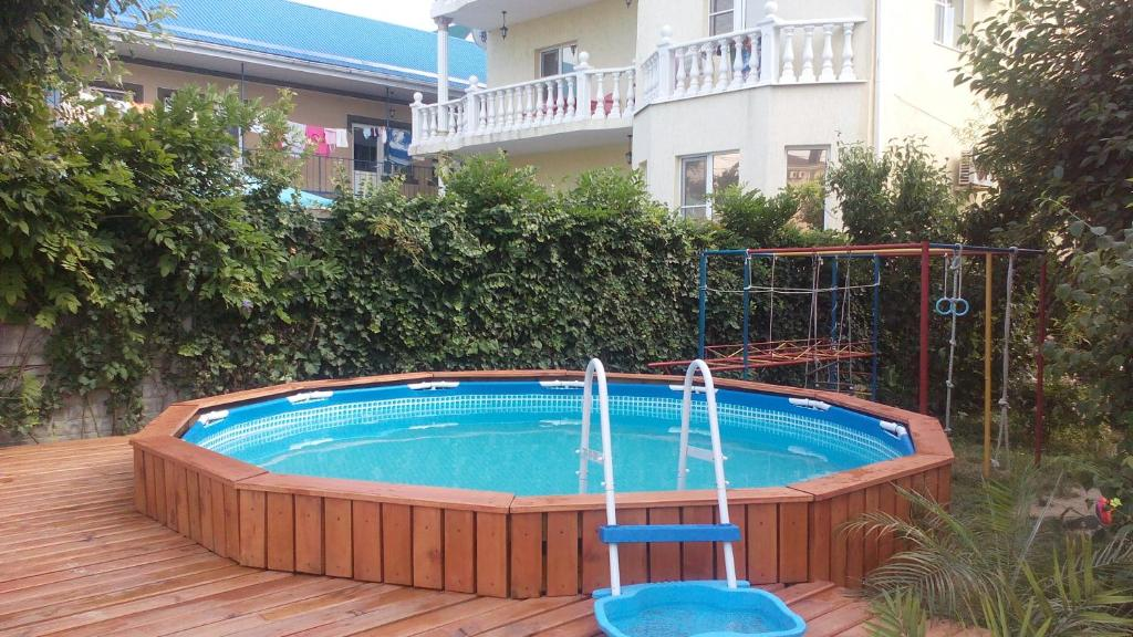 The swimming pool at or near Yucca Guest House