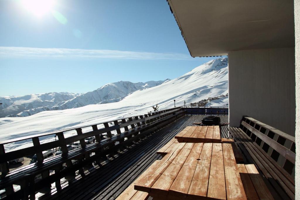 Apartment El Colorado Snowboard during the winter