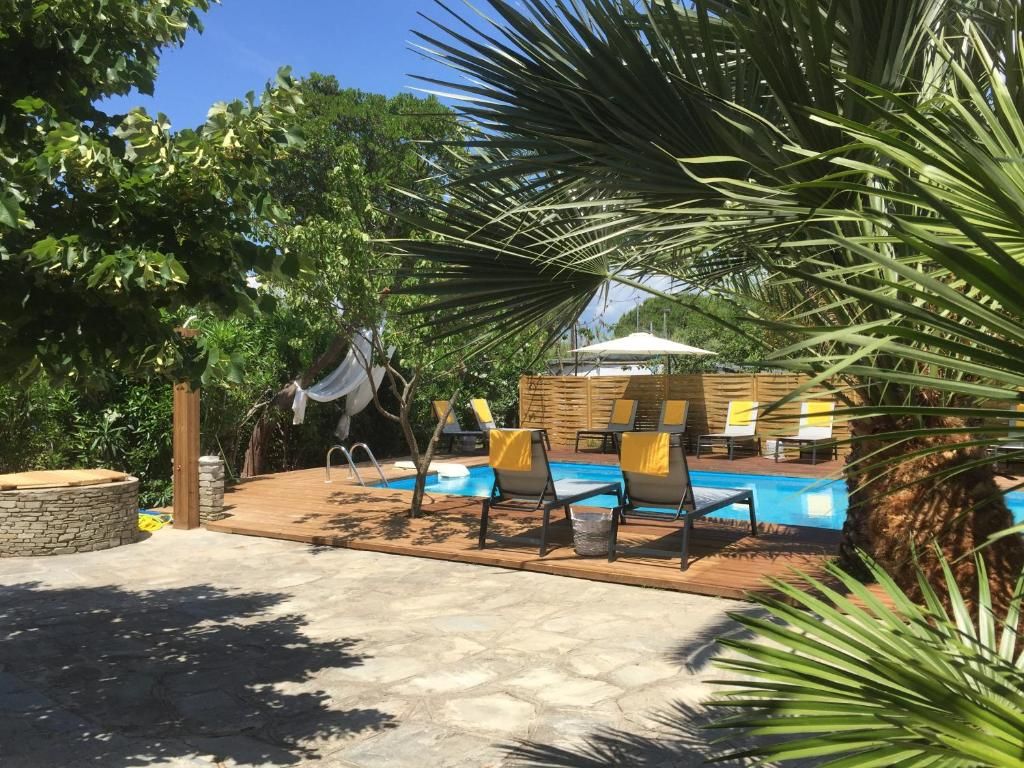 Πισίνα στο ή κοντά στο Filippos Resort II by Karidi