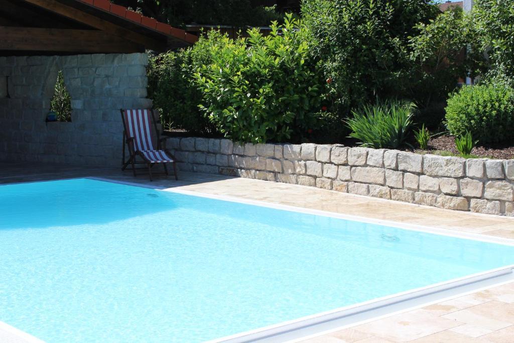 Der Swimmingpool an oder in der Nähe von s' Berghäusl Randeck