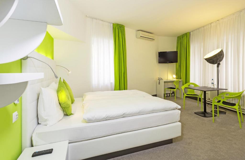 Una habitación en Hotel City Inn Basel