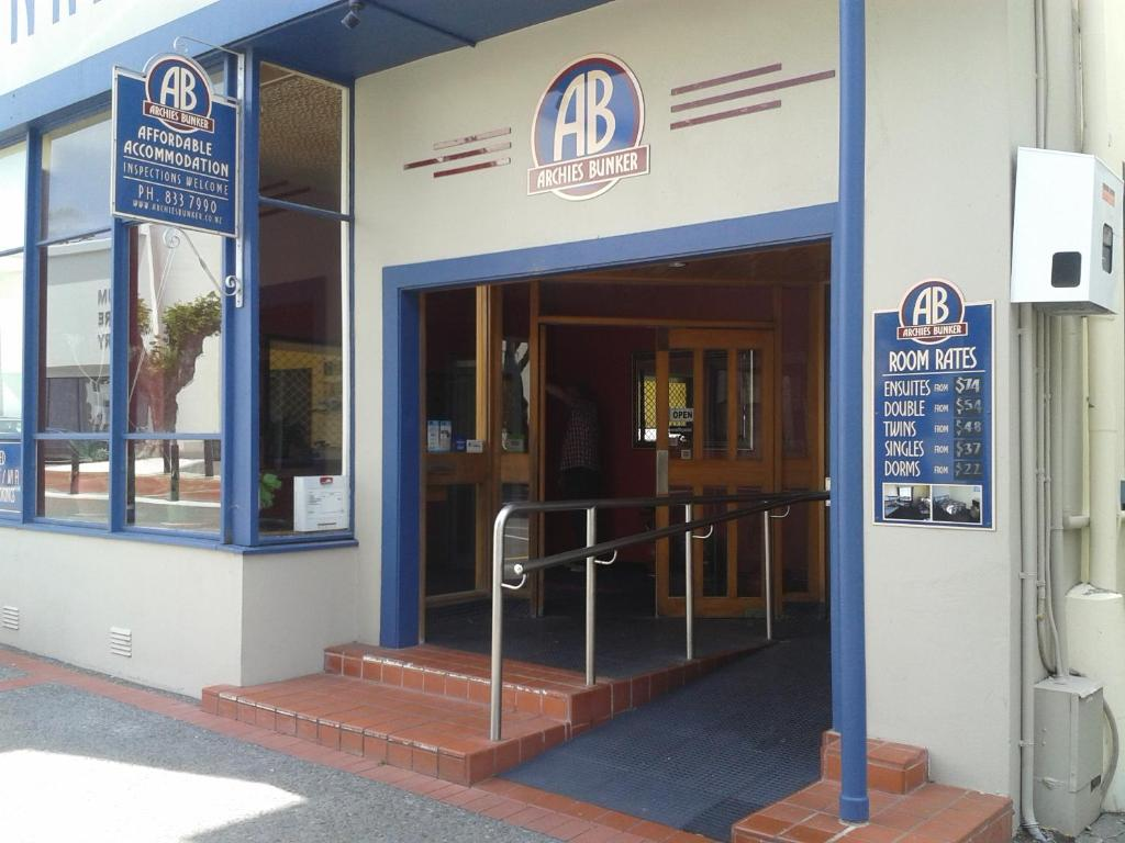 The facade or entrance of Archies Bunker Affordable Accommodation