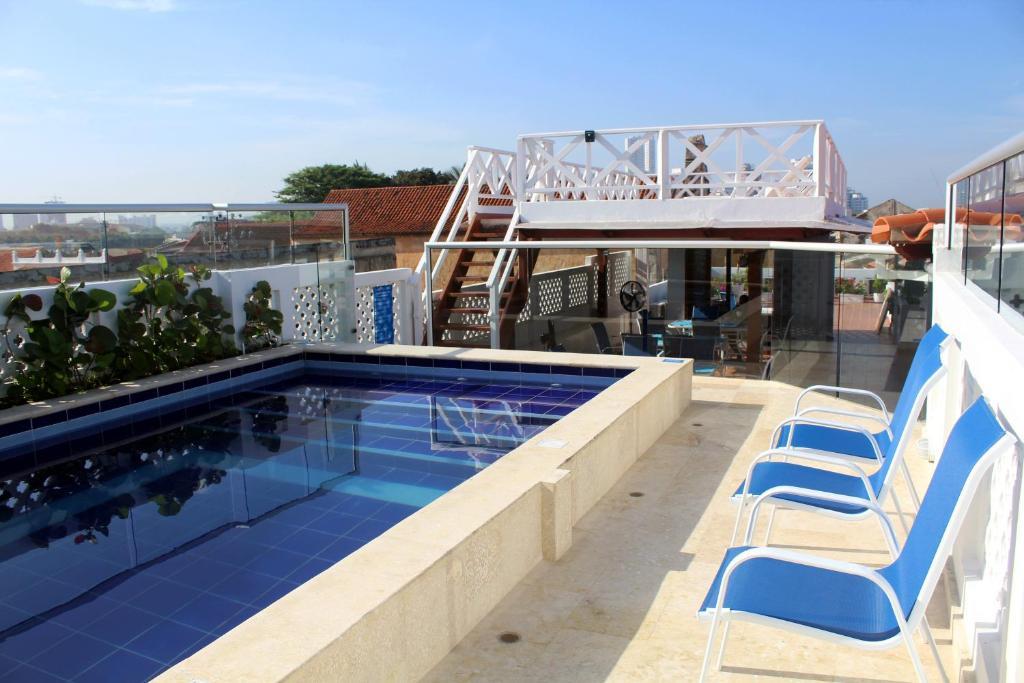 Piscine de l'établissement Casa Villa Colonial By Akel Hotels ou située à proximité