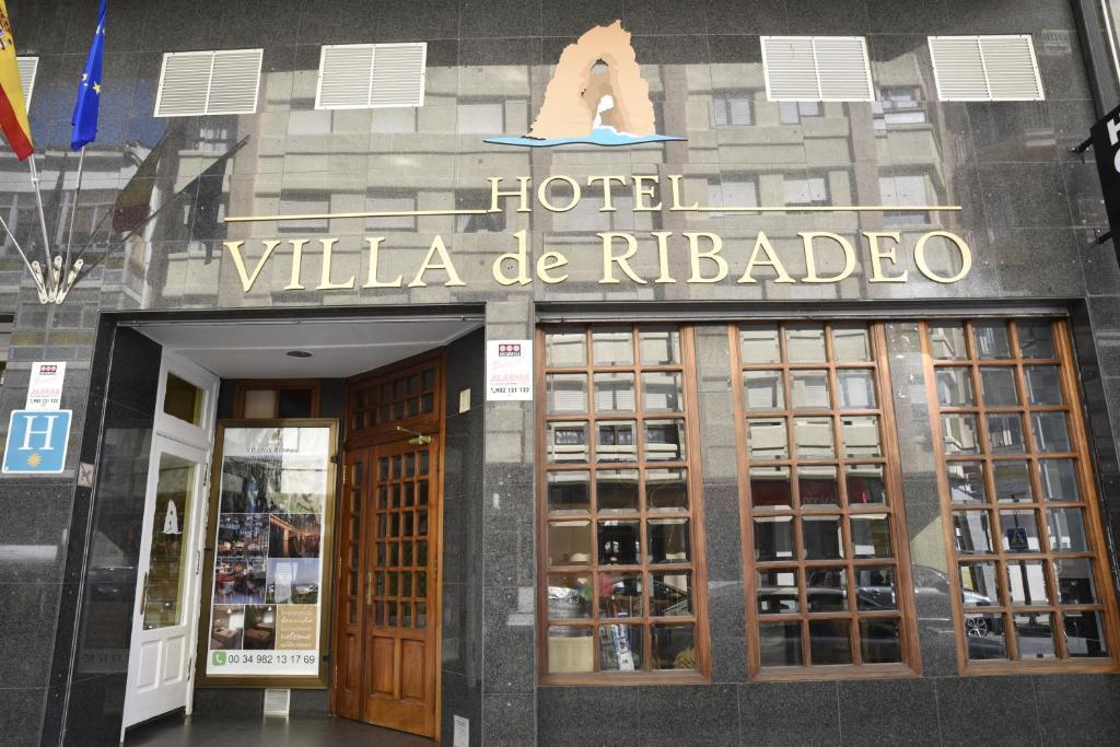 Fachada o entrada de Hotel Villa De Ribadeo