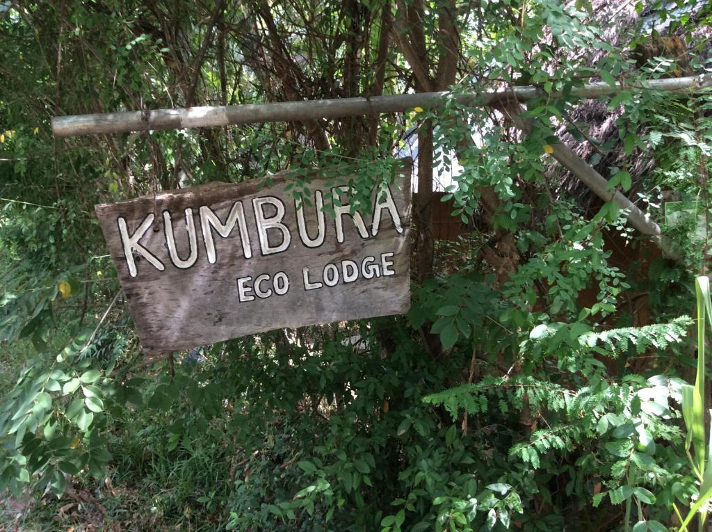 A certificate, award, sign, or other document on display at Kumbura Eco Lodge
