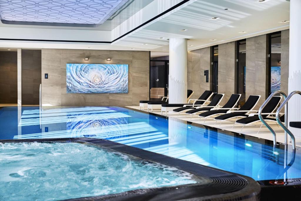 The swimming pool at or near Hilton Tallinn Park