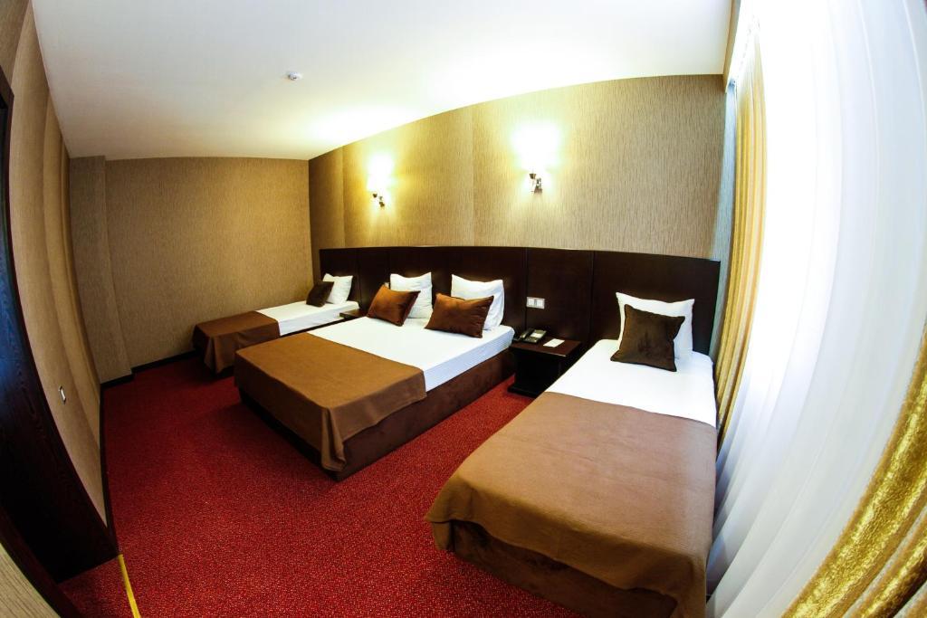 Um quarto em Masalli Hotel & Restaurant