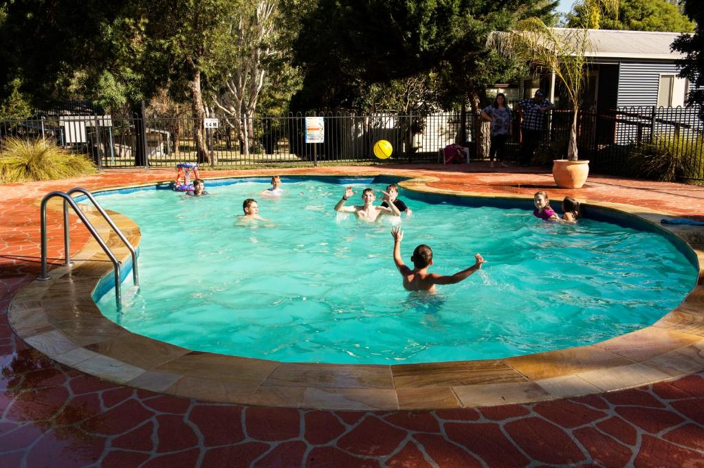 The swimming pool at or near Rivergum Holiday Park