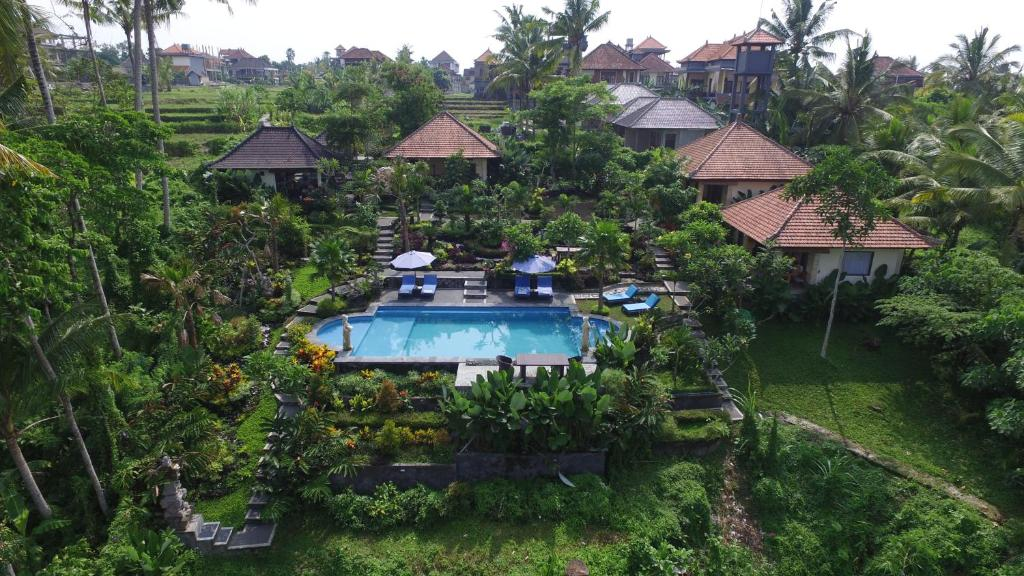 A bird's-eye view of Villa Capung Mas Ubud