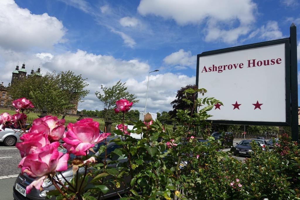 A garden outside Ashgrove House Hotel
