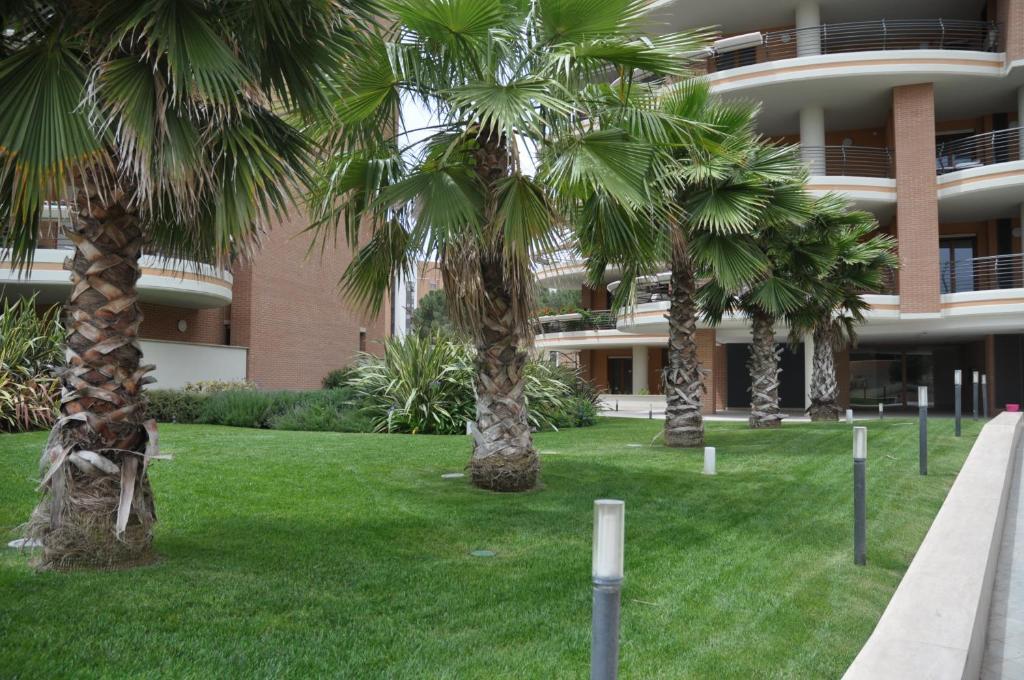 A garden outside La Mia Casa Romana