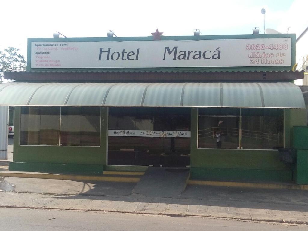 The facade or entrance of Hotel Maracá