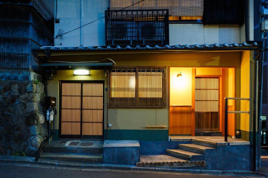 The facade or entrance of Kiyomizu Shukuba