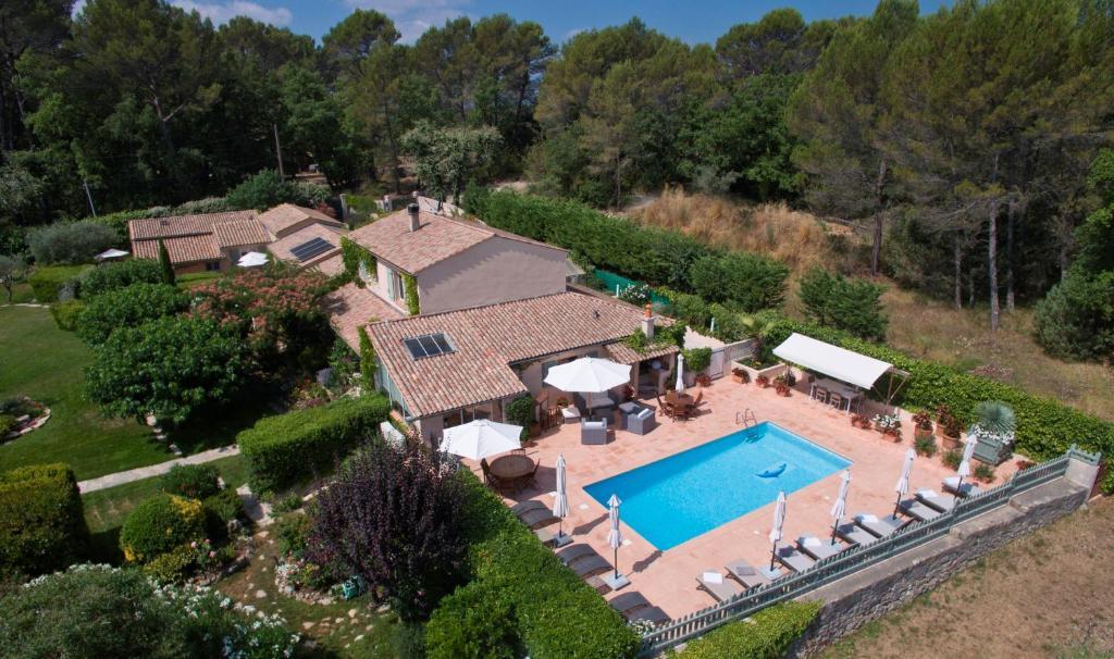 Een luchtfoto van La Bégude Du Pascouren