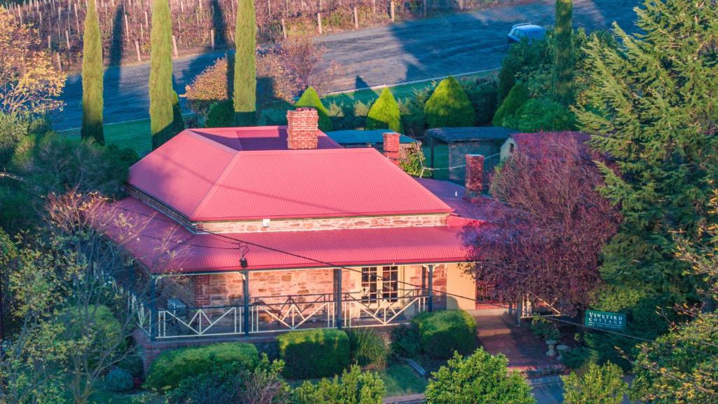 A bird's-eye view of Vineyard Cottage BnB