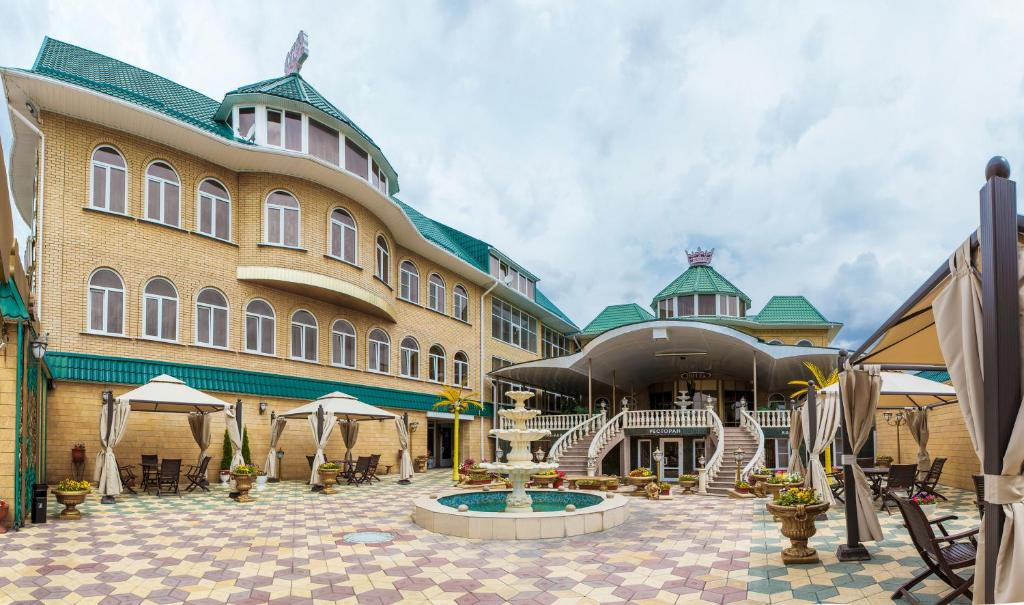 Патио или другая зона на открытом воздухе в Отель Невский