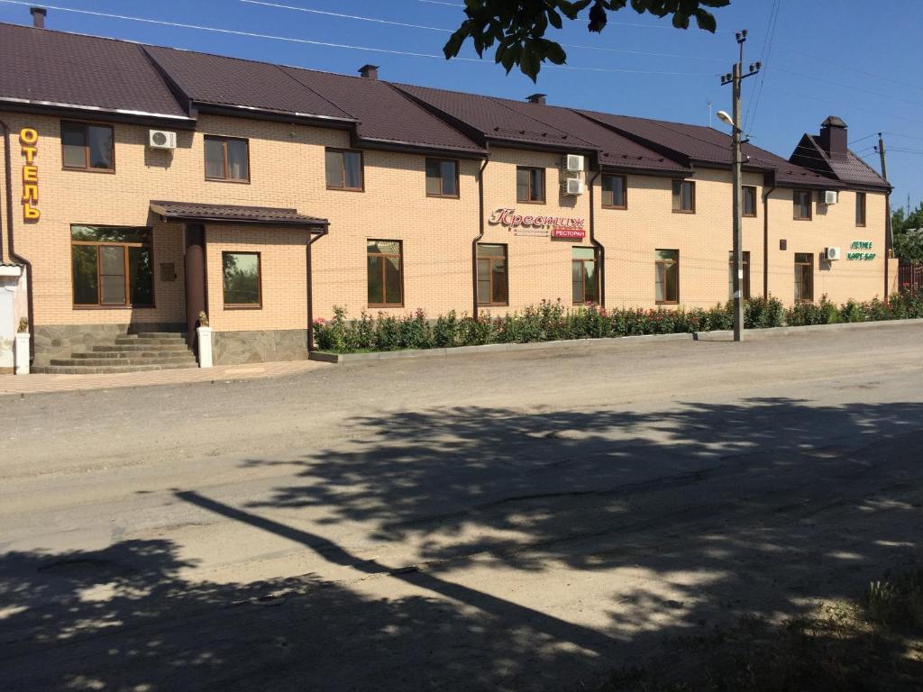 Фасад или вход в Отель «Престиж»
