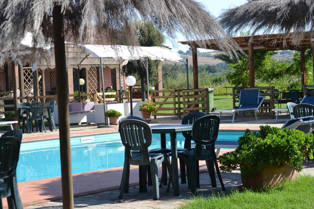 The swimming pool at or near Agriturismo il Laghetto