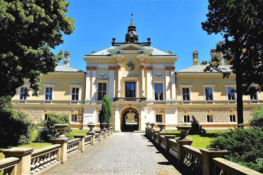 Patio nebo venkovní prostory v ubytování Chateau Svetla nad Sazavou