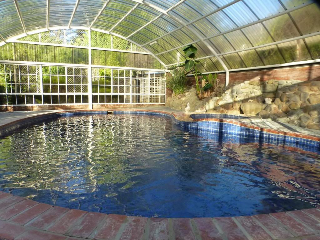 The swimming pool at or close to Alpine Aspects