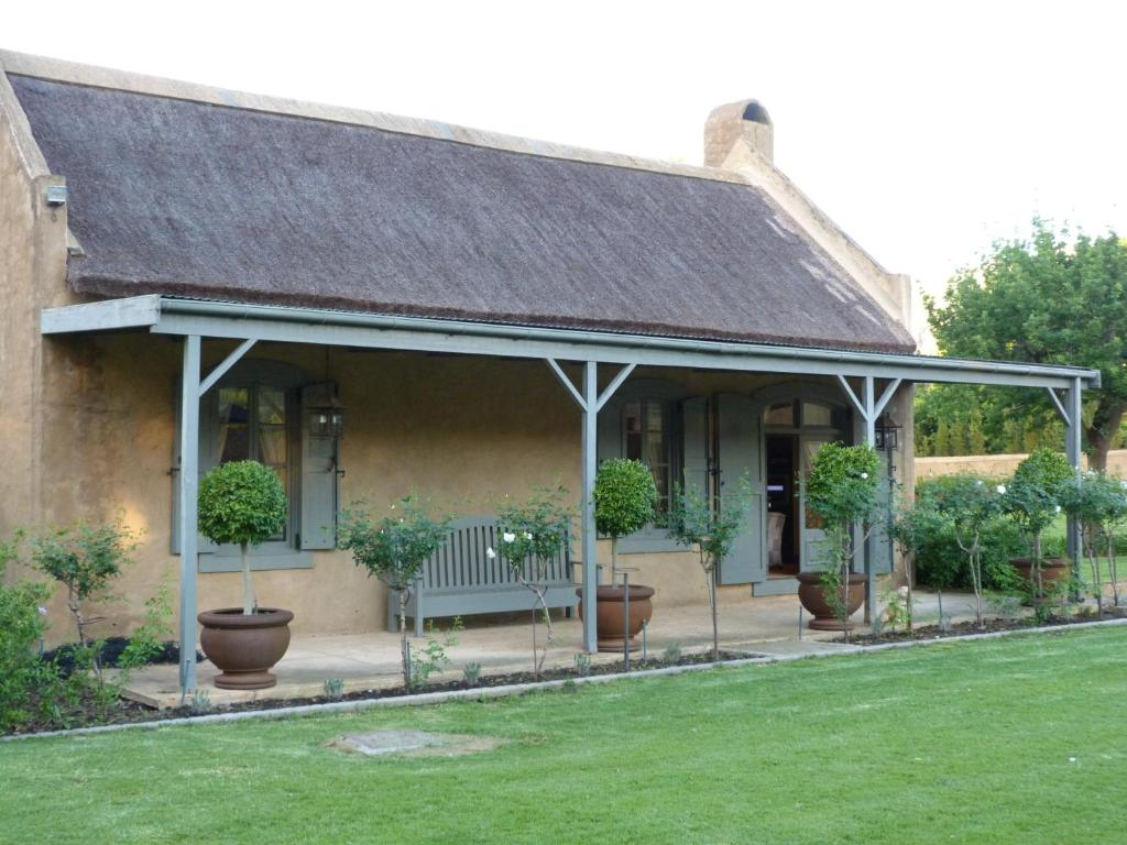 A patio or other outdoor area at Burgundy Bourgogne Manor House and Cottages