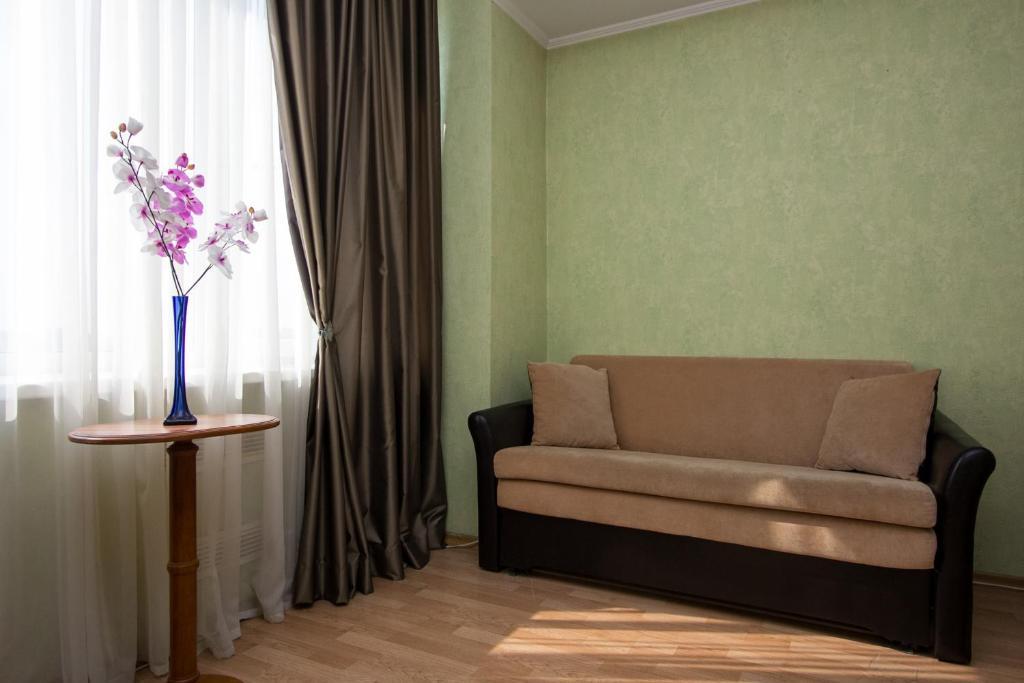 Гостиная зона в ApartLux Новоарбатская Супериор