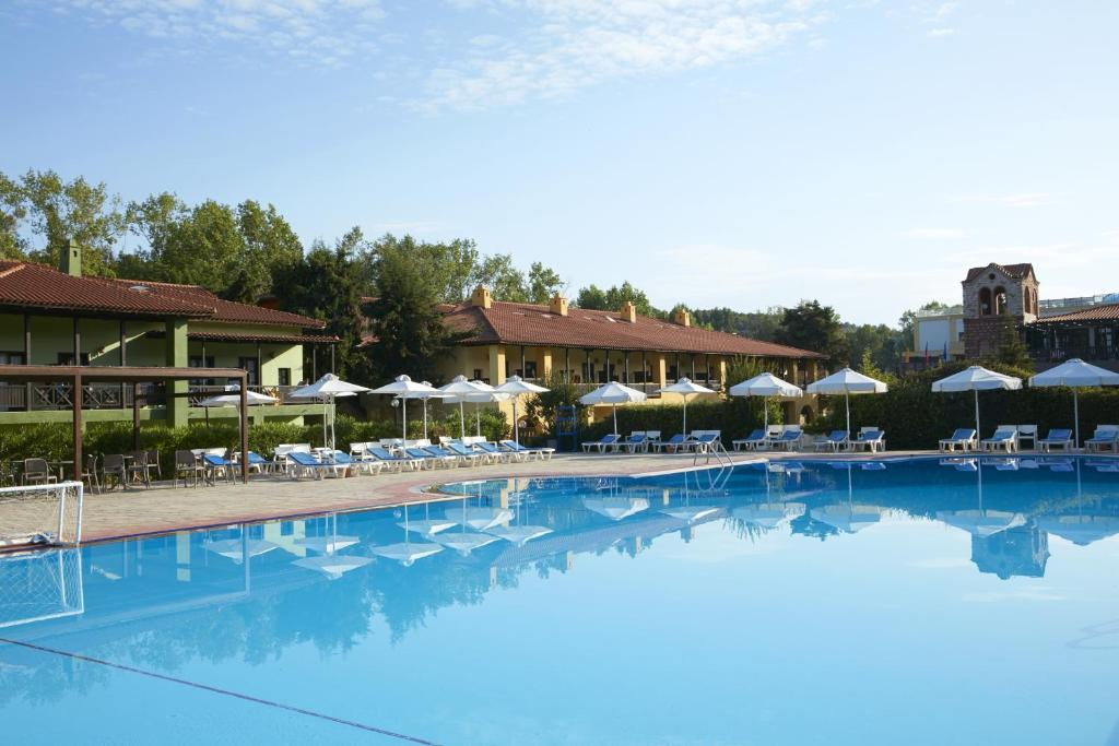 The swimming pool at or near GHotels Simantro Beach