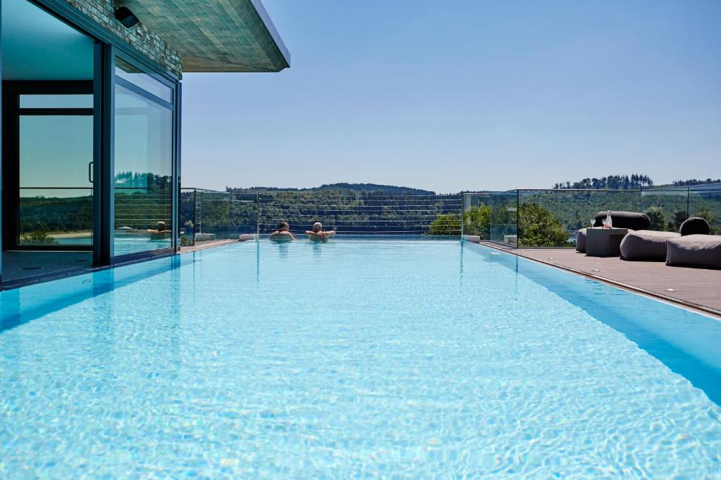 The swimming pool at or close to Hotel Seegarten