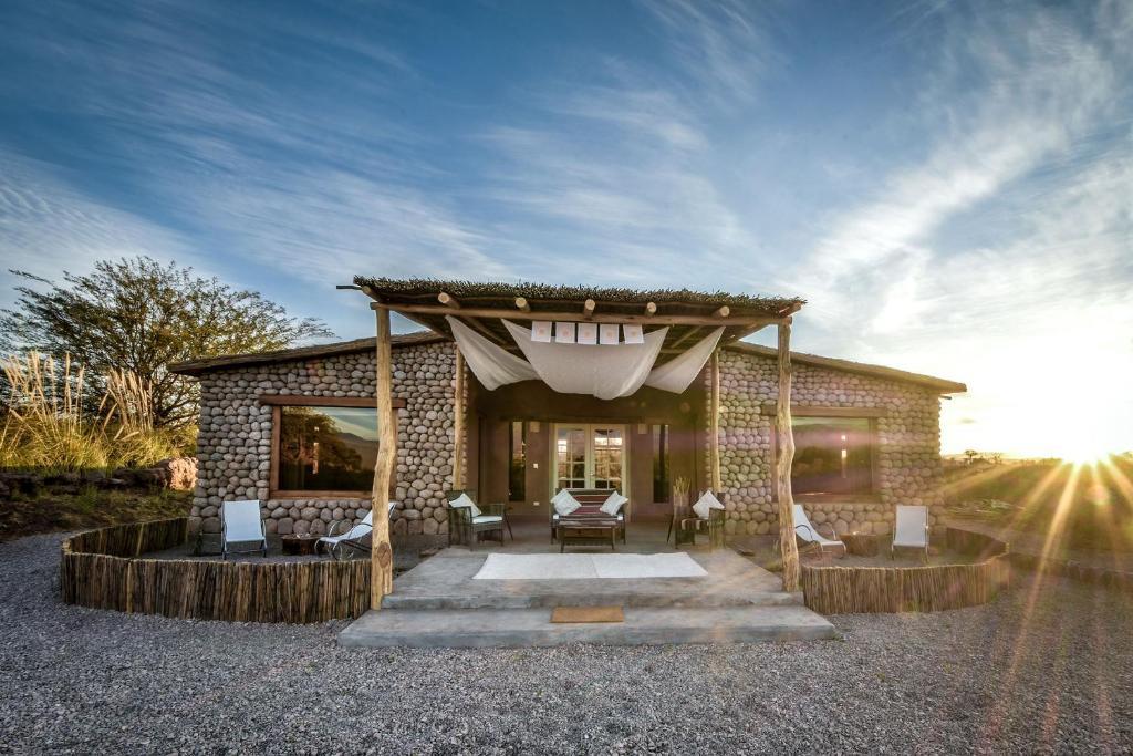 A porch or other outdoor area at Casita La Brea