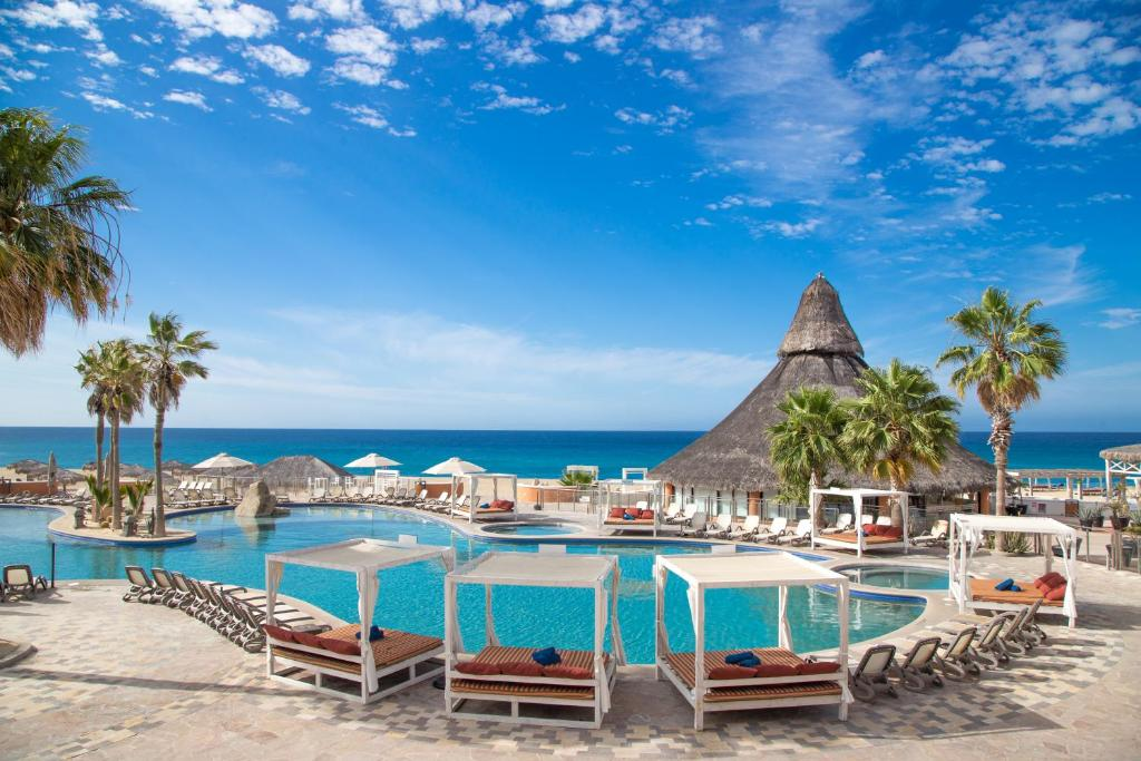 The swimming pool at or near Sandos Finisterra All Inclusive