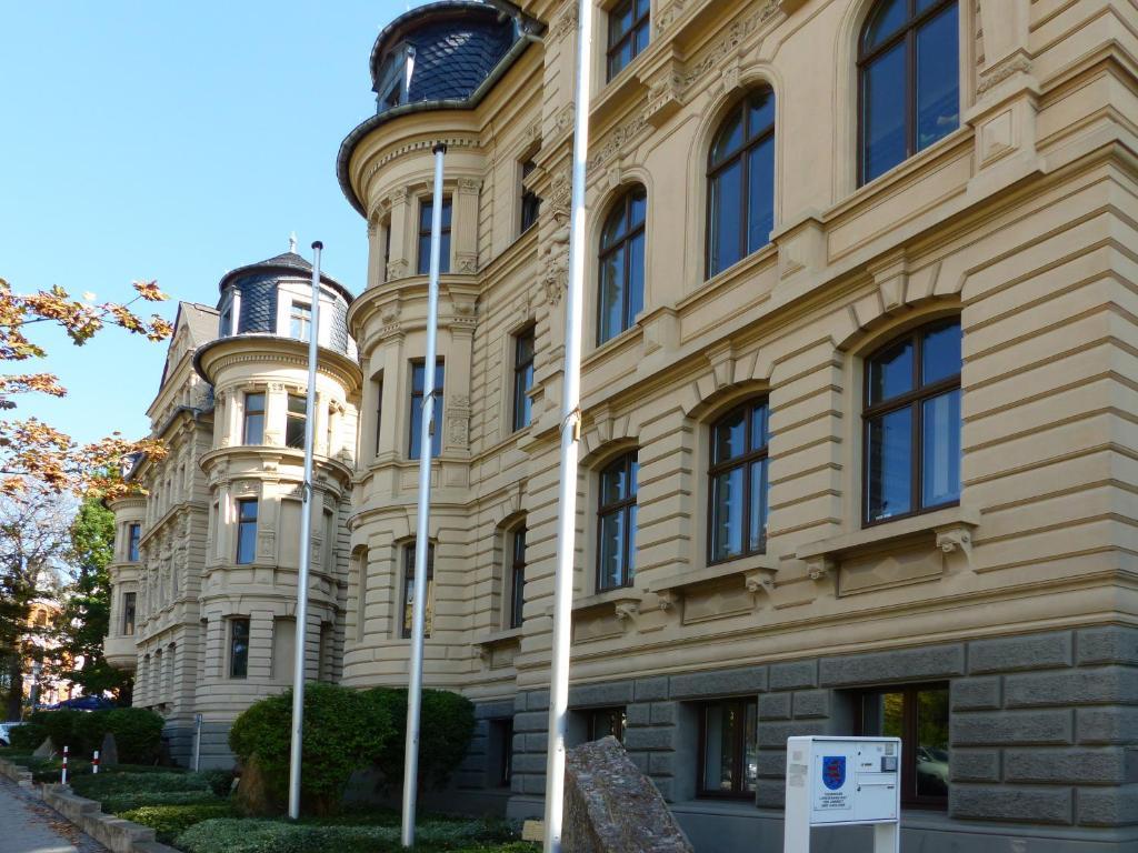 Eine Fassade oder ein Eingang zu Amalienhof Serviced Apartments