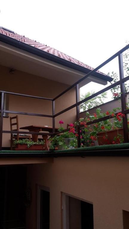 Balkón nebo terasa v ubytování Apartment Pod Kotnovem