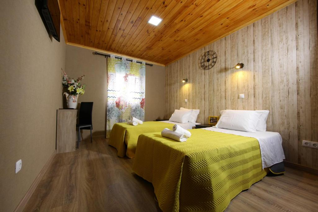 A room at Happy House