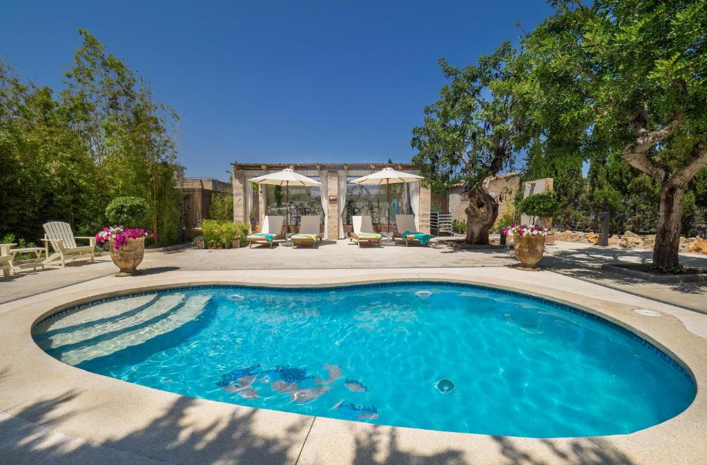 The swimming pool at or near Protur Residencia Son Floriana