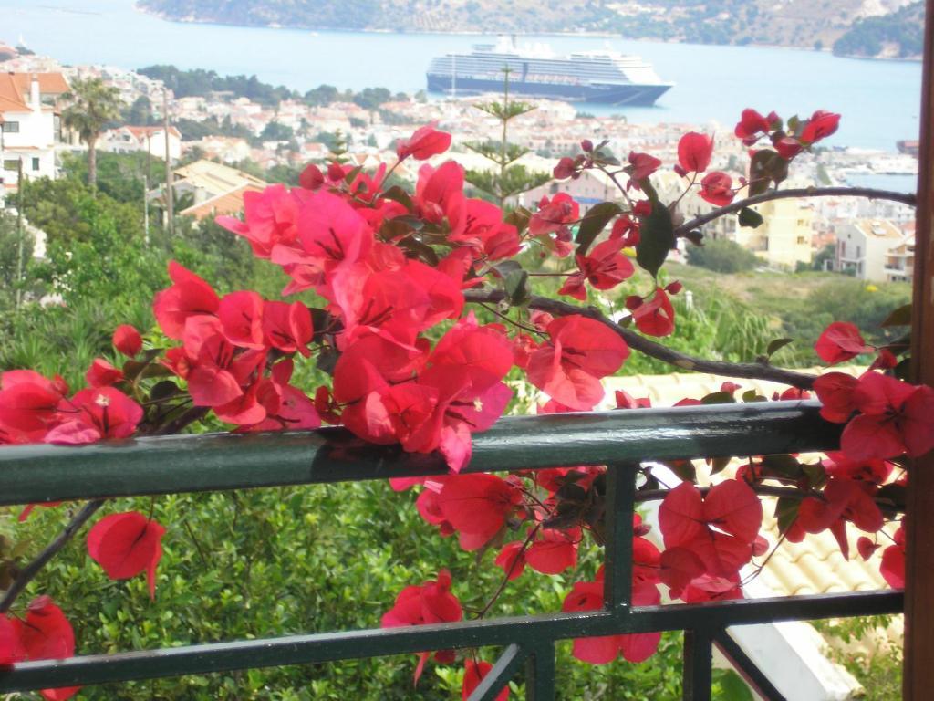 A balcony or terrace at Studios Rania
