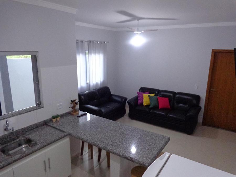 A seating area at Casas para temporada em Bonito