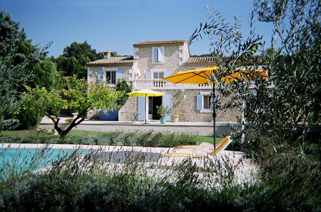 A garden outside Le Mas Julien