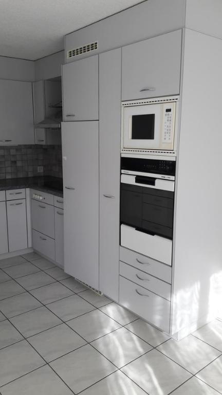 Küche/Küchenzeile in der Unterkunft Good Bed Pfaffnau