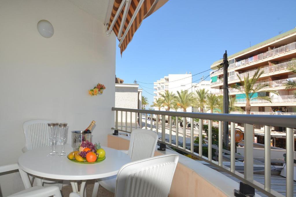 Un balcón o terraza de Apartamento en Salou