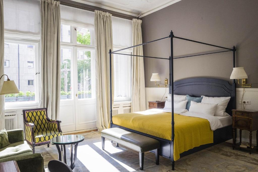 Et rom på Henri Hotel Berlin Kurfürstendamm