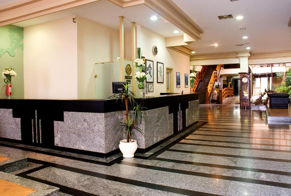 The lobby or reception area at Hotel Nikko