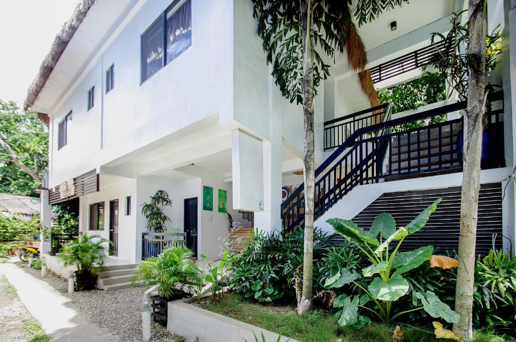 A porch or other outdoor area at Serviced Apartments by Eco Hotel Boracay