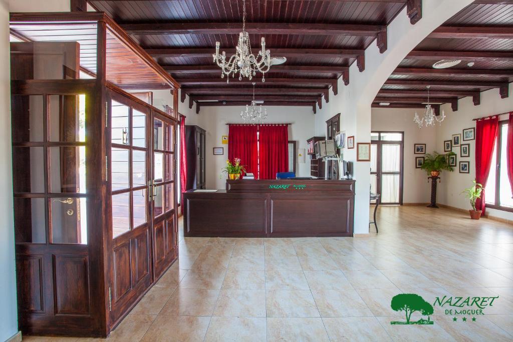 El vestíbulo o zona de recepción de Complejo Turístico Rural Nazaret De Moguer