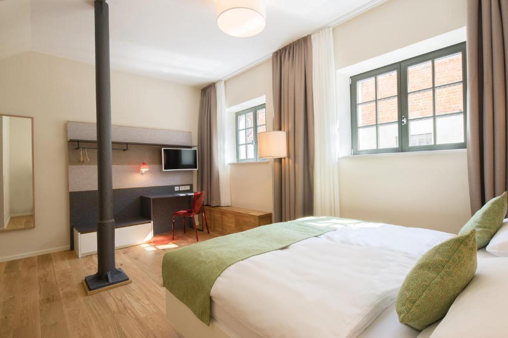 Ein Zimmer in der Unterkunft Paulinen Hof Seminarhotel