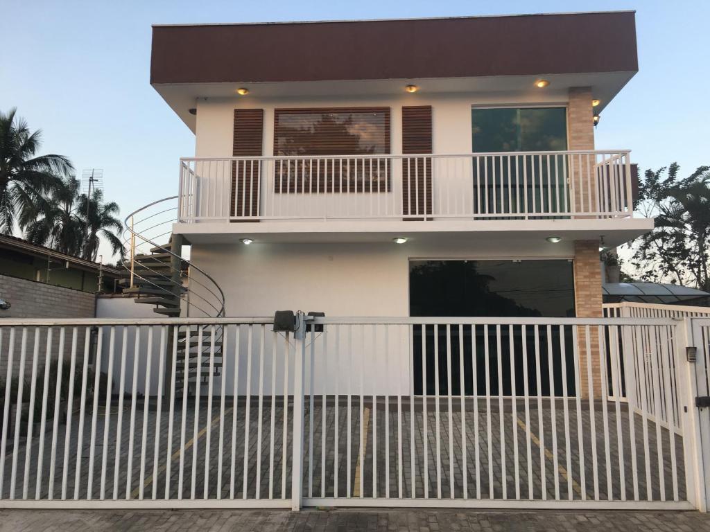 A balcony or terrace at DiPietro Home
